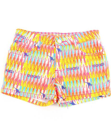 COOGI Girls Multi Aztec Printed Shorts (7-16)