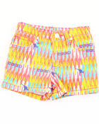 Girls - AZTEC PRINTED SHORTS (4-6X)