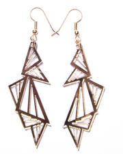 Women - Multi Triangle Earrings