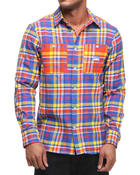 Rocawear - Everest Plaid L/S Button-down