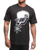 Shirts - San Antonio Spurs Snap back team logo tee