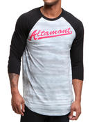 Men - Jakked Raglan Baseball Tee