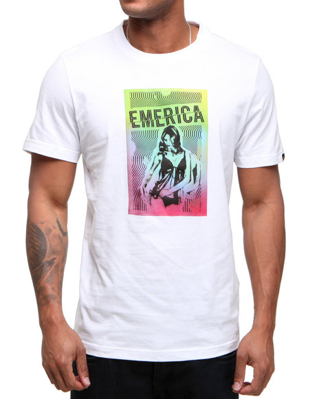Emerica Men White Vixen Tee