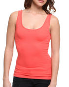 Basic Essentials - Seamless Double Scoop Tank Top