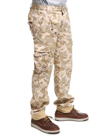 Rocawear Men Camo Desert Classic Fit Pants