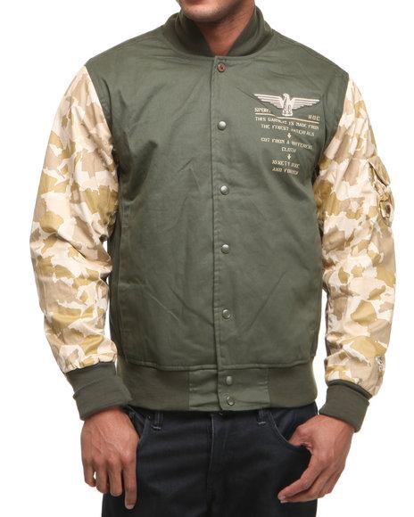 Rocawear Men Camo, Olive Desert Camo Jacket