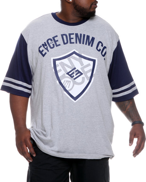 Enyce Men Blue Shield Short Sleeve Crew Neck (B&T)