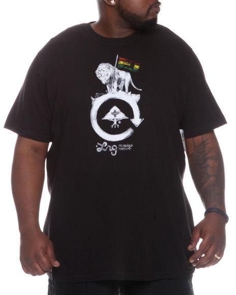 LRG Men Black Conscious Heads Tee (B&T)