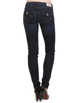 True Religion - Julie Rips Low Rise Skinny