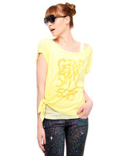 Women - RCO Legion Double Layer Side Tie Logo Tee