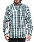 Rocawear - St Mark's Pl Plaid L/S Button-down