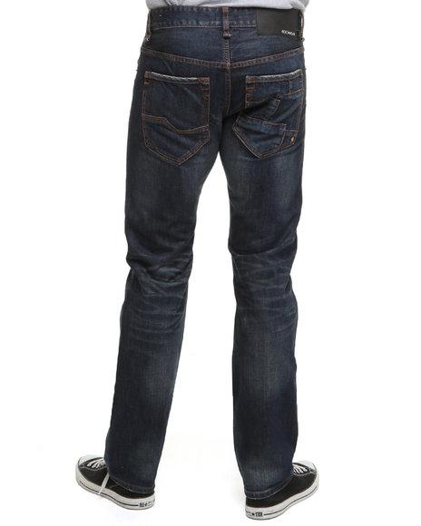 Rocawear Men Dark Wash Benton Straight Fit Jeans