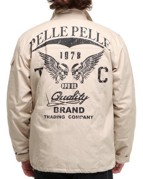 Pelle Pelle Men Stash Pocket Jacket