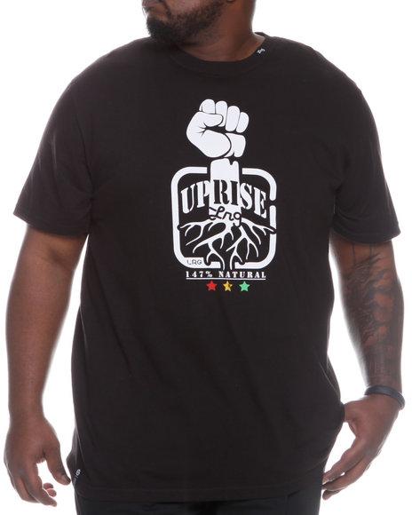 LRG Men Black Uprise And Shine Tee (B&T)