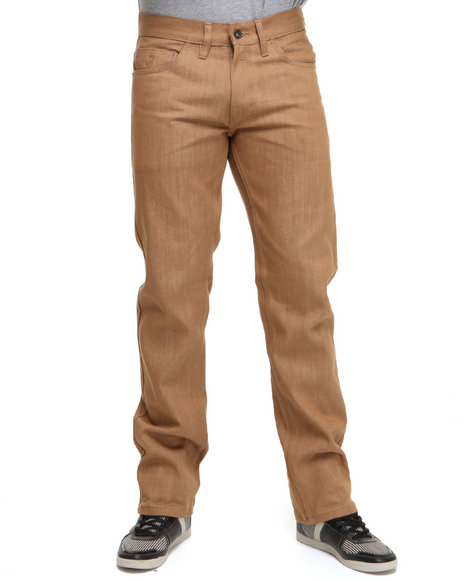 Rocawear Men Wheat Bleek Color Straight Fit Jeans