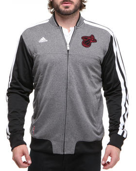 Adidas - Miami Heat winter court track jacket