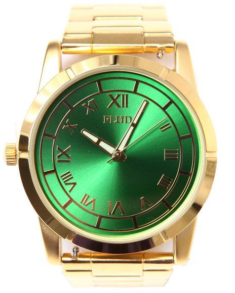 Flud Watches Men Moment Watch Gold 1SZ