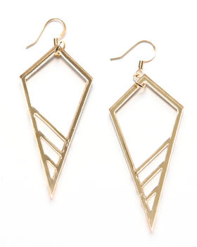 Plastique - Cone Earrings