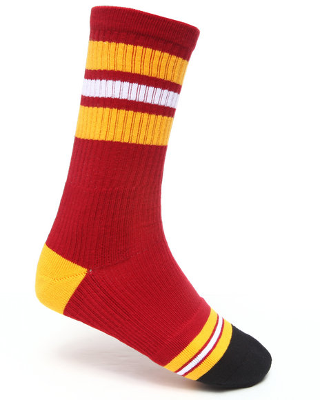 Stance Socks - Men Red,Yellow Little Havana Socks