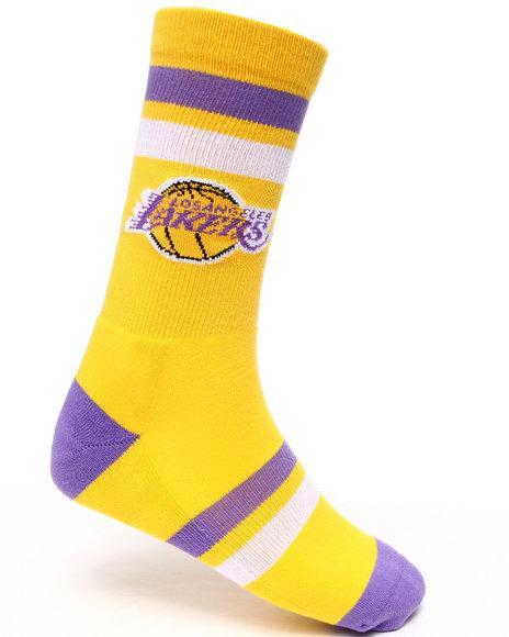 Stance Socks Yellow Lakers Socks