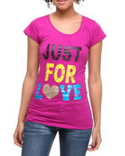 Graphix Gallery - Just For Love tee