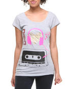 Women - I love Music Tee