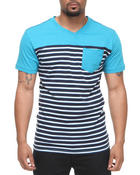 Company 81 - Roland Striped V-neck