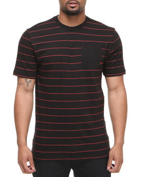 Company 81 - S/S Crew Neck Stripe w/ solid pocket