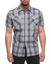 Men - Brillyant S/S Plaid Button Down Shirt