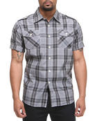 Men - Brillyant S/S Plaid Button Down Shirt