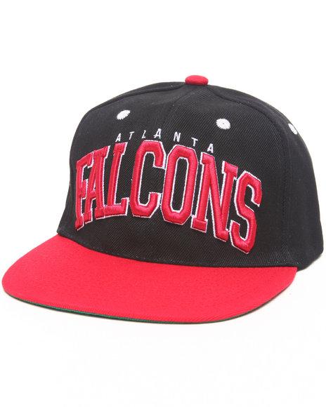 Nba, Mlb, Nfl Gear Atlanta Falcons Logo Snapback Hat Black