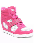 Women - Brayden Wedge Perforated Sneaker