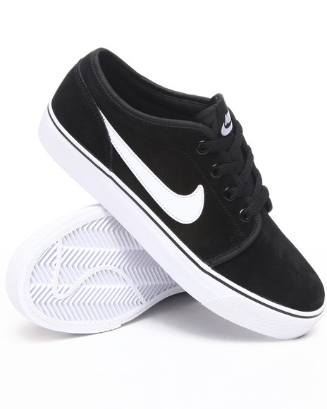 Nike Men Black Toki Lthr Sneakers
