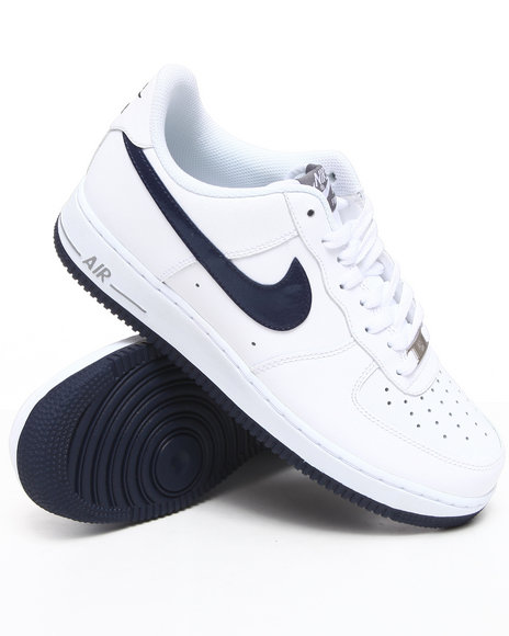 Nike Men White Air Force 1 Sneakers
