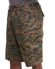 DRJ Army/Navy Shop - Rotcho BDU Combat Woodland Digital Camo Cargo Shorts