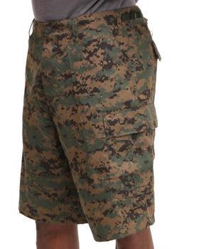 Rothco - Rotcho BDU Combat Woodland Digital Camo Cargo Shorts