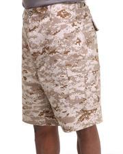 Men - Rotcho BDU Combat Desert Camo Cargo Shorts
