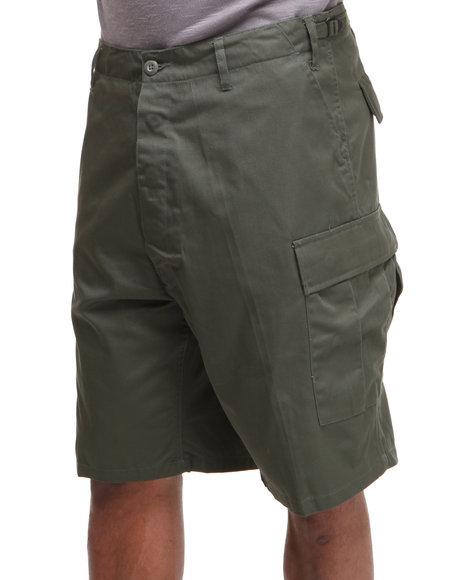 Rothco - Men Olive Rotcho Bdu Combat Cargo Shorts