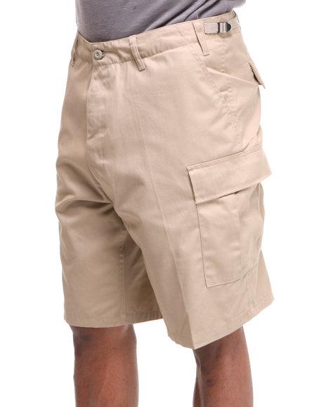 Rothco - Men Khaki Rotcho Bdu Combat Cargo Shorts