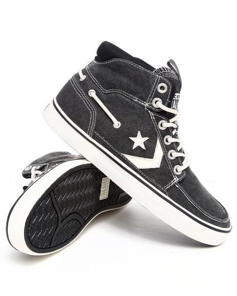 Converse Men Black Pro Leather Naut Sneakers