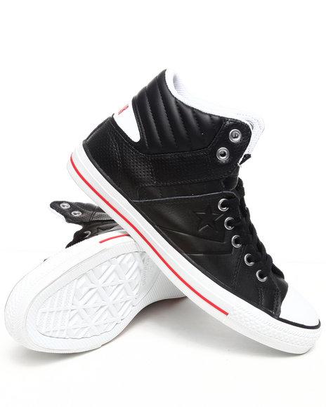 Converse Men Black Star Player Rise Sneakers