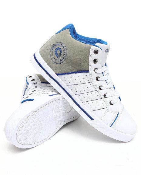 Akademiks Men Blue Rolodex Hightop Sneaker