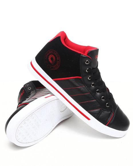 Akademiks Men Black Rolodex Hightop Sneaker