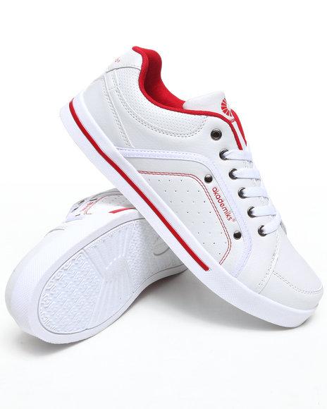 Akademiks Men Red Akademiks Mud Guard Lowtop Sneaker