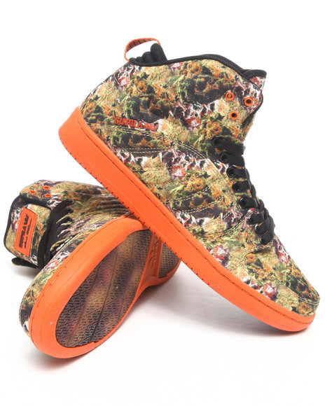 Supra Men Orange,Black Lil Wayne Vice