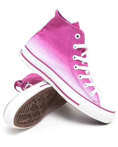 Converse Women Purple Chuck Taylor All Star Gradiated Hi Sneakers