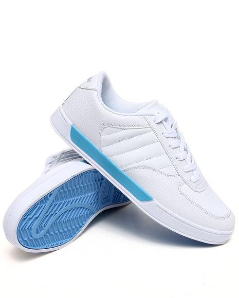 Pelle Pelle White,Light Blue Pelle Half Time Sneaker