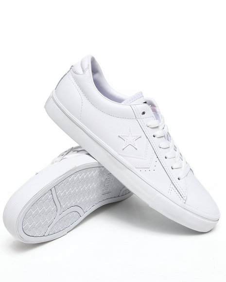 Converse Men White Pro Leather Vulc Sneakers