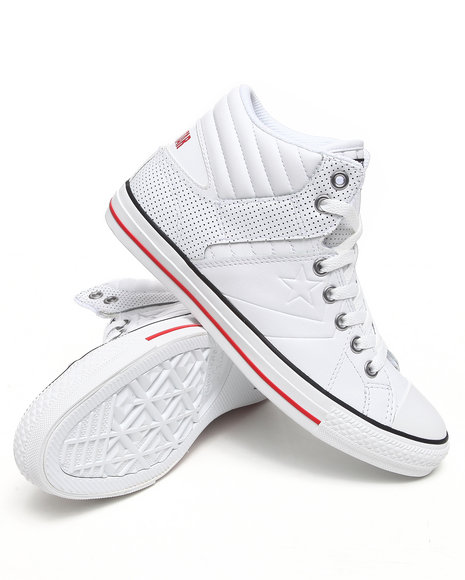 Converse Men White Star Player Rise Sneakers