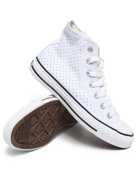 Converse Women White Chuck Taylor All Star Spec Sneakers